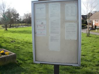 Image of Hankelow Noticeboard